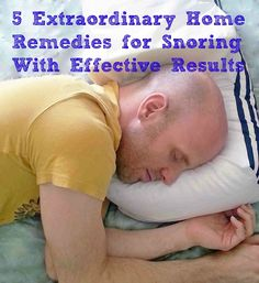 These home remedies for snoring are simple but they will help you overcome the nagging condition with effective results before it become a serious medical condition.