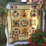 Penny's Quilt using Perle 8