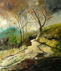 Trail Harroy Pol Ledent, Belgian artist