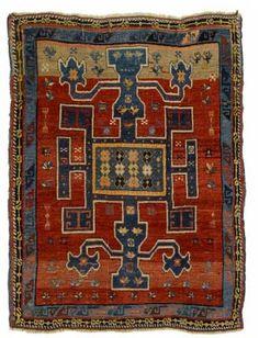 Caucasian Avar rug,  last quarter 19th century