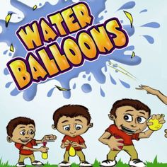 """Water Balloons 2"""" Capsules"""