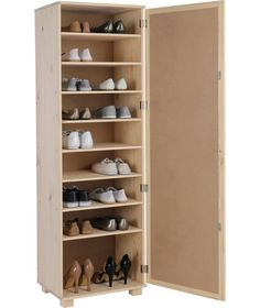 Buy HOME Shoe Rack and Mirror - Solid Unfinished Pine at Argos.co.uk - Your Online Shop for Shoe storage.