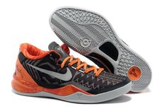 more photos e213c 4e11d Nike Zoom Kobe VIII Männerschuhe Schwarz Orange Silber Kobe Bryant  Basketball Shoes, Nike Kobe Bryant