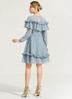 Stylish Dresses For Girls, Stylish Dress Designs, Simple Dresses, Elegant Dresses, Cute Dresses, Short Dresses, Knee Length Dresses, Cocktail Movie, Cocktail Sauce