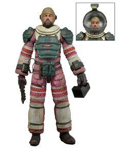 NECA - Alien –Dallas in Nostromo Spacesuit- 7″ Scale Action Figure – Series 4