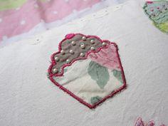 Cupcake cushion detail