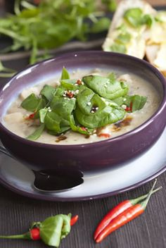 Chicken soup might be good for the winter sniffles but potato soup is good for the soul. Potato, leek and spinach add plenty of nutrients, a...