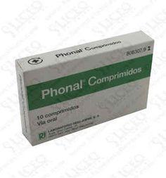 PHONAL 10 COMPRIMIDOS PARA CHUPAR