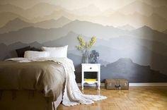 Pintar las paredes como si tuvieran papel pintado   Mil Ideas de Decoración