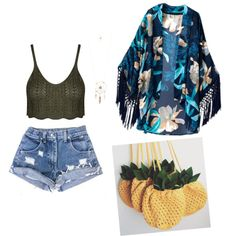 Beach day Look by owlnightmare on Polyvore featuring polyvore fashion style Aéropostale