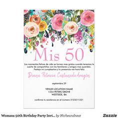 Tarjeta De Cumpleaños A Festejar Invitación Para Cumpleaños