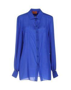 MISSONI Women's Shirt Bright blue 8 US