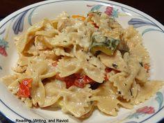 Reading, Writing, and Ravioli: Recipe: Pecorino-Romano Cheese Sauce
