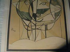 Vintage Pablo Picasso Lithograph