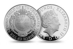 Commemorative £5 Coin | Silver Coins Issued to Babies who Share Princess Charlotte's Birthday | Steppes Hill Farm Antiques | http://www.steppeshillfarmantiques.com/blog/babies-born-on-the-same-day-as-princess-charlotte-to-be-gifted-with-silver-coin-2491