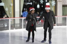 We love that Lucy Hale and Tyler Blackburn ice skate together. Pretty Litle Liars, Pretty Little, Morgan Evans, Girls Are Awesome, Tyler Blackburn, Pll Cast, Jamie Campbell Bower, Christmas Shows, Daniel Gillies
