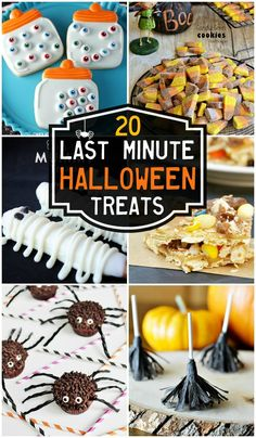 20 Last Minute Halloween Treats!! { lilluna.com }