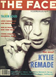 LADEEZKylie | Kylie Thailand Fan Blog: Kylie on The Face Magazine