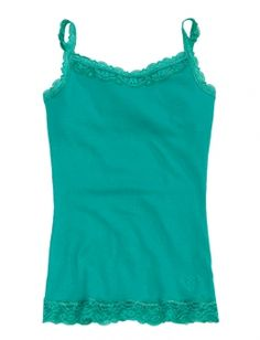 Our Favorite Metallic Lace Cami | Girls Camis Clothes | Shop Justice