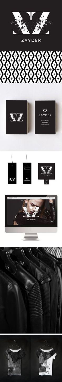 Zayder - identyfikacja wizualna marki