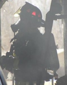 PFA Firefighter In The Smoke