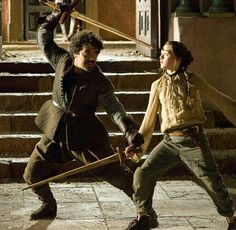 """And there is only one thing we say to Death: ""not today"".""  -  Syrio Forel, master sword-fighter and instructor to Arya Stark."