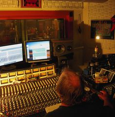 """Engineer Wally Sound oversees the drummer John Hanes (aka """"John Stench"""") as a drum track is produced.    The Kathy Sparling sessions at Wally Sound Recording Studio in Oakland California. September 17, 2009     Visit http://www.createnewmusic.com/ Create Your Own Sick Beats With A Complete Online Recording Studio! Good Enough For Pro's and Simple Enough For Bigginners."""