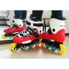 Подарочный тюнинг колес  #счастьевдетях #seba #rollers #hyperconcrete #hamster #wheels #роллеры #тюнинг #rekil #roller #rollerskating