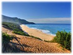 La Costa Verde, Scivu, Sardinia. Wild sea.