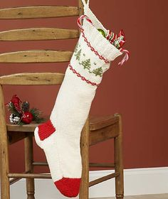 Ravelry: Knit Christmas Stocking pattern by Allison Snopek Barta