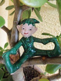 Vintage Fabulous Ceramic Gilner Elf