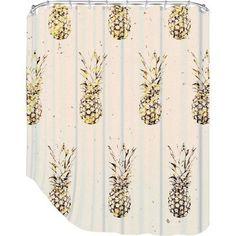Superior Pineapple Shower Curtain / Society6 | Love | Pinterest | Pineapple Shower  Curtain