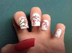 Spring Blossom by Uniquenails2015 from Nail Art Gallery