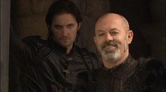 Sir Guy of Gisborne and the Sheriff of Nottingham -- Richard Armitage and Keith Allen -- BBC Robin Hood (2006-2009)