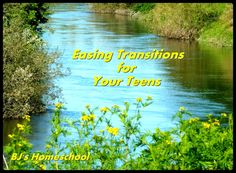 BJ's Homeschool - Our Journey Towards College: Easing Transitions for Your Teen