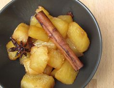 roasted pineapple with star anise and cinnamon – Cook with Home Organics Roasted Pineapple, Star Anise, Corn Syrup, Stevia, Cinnamon, Spices, Potatoes, Herbs, Vegetables