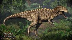 Acrocantosaurio.  Primal Carnage: Extinción por Swordlord3d