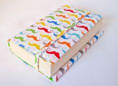"Book Cover ""Mustache"" from JaMaTa by DaWanda.com"