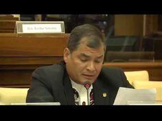 Intervención del Presidente Rafael Correa en el taller de cambio climáti...