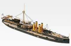 SMS Sachsen Imperial Japanese Navy, Naval History, Wooden Ship, Military Helicopter, Submarines, Ship Art, Panzer, Tall Ships, Boat Building