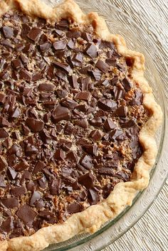 Double Chocolate Pecan Pie | Annie's Eats
