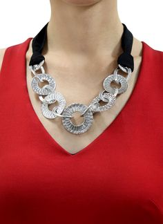 Indian Fashion Designers - Rawtonica - Contemporary Indian Designer - Circla Fashiona Necklace - RAW-SS16-RFSN02