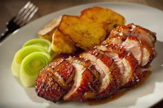 Duck at Another Level with a Luscious Glaze and Hints of Cinnamon: Honey and Cinnamon Glazed Duck Breast