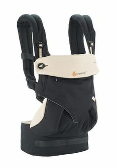ErgoBaby 4 position 360 baby Carrier in black