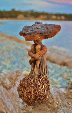 Soul Inside Trees - Amazing Sculptures By Debra Bernier