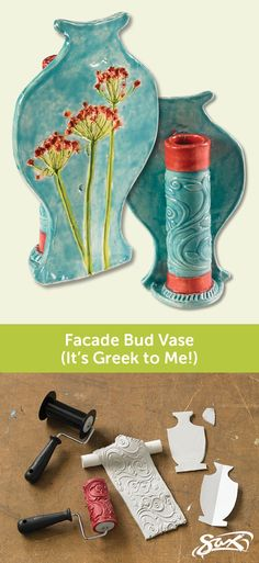 Create a classical Greek pottery form and facade with this ceramics art lesson plan. Detailed directions and complete art supplies list included, along with objectives, grade levels, and correlations to National Core Art Standards. Created by our Sax Art Consultants.