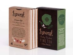 Beautifully Bottled Infusions : Paromi Tea Packaging