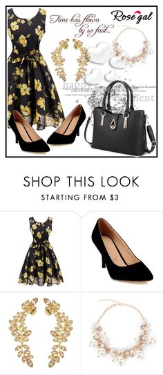 """""""Floral Print Dress 20"""" by aazraa ❤ liked on Polyvore featuring vintage"""