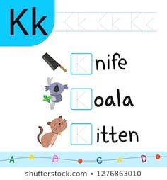 Animal Worksheets, Reading Worksheets, Kindergarten Reading, English Lessons, Perception, Vector Design, Phonics, Exercises, Alphabet
