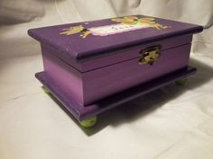 Beautifully hand crafted box by Enchanted Giftss on Etsy - sold.